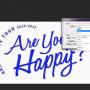 嵐 are you happy ?(アユハピ ・あゆはぴ) 赤、青、黒のロゴの色の作り方!色を変える方法!フォントの字体(書体)は?透明の透過データや背景グレーの加工方法!アプリ名は?【ジャケ写】